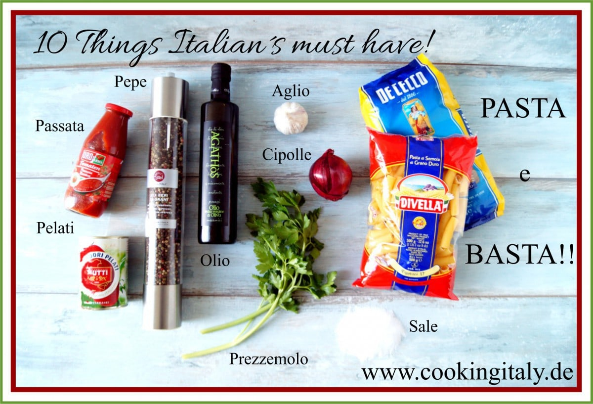 10 Things Italians must have!