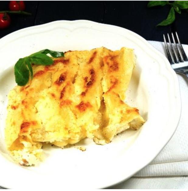 Canneloni mozzarella e prosciutto