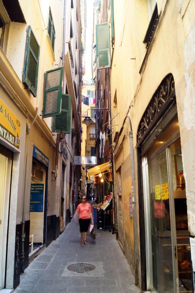 Ein Kurzbesuch in Genua