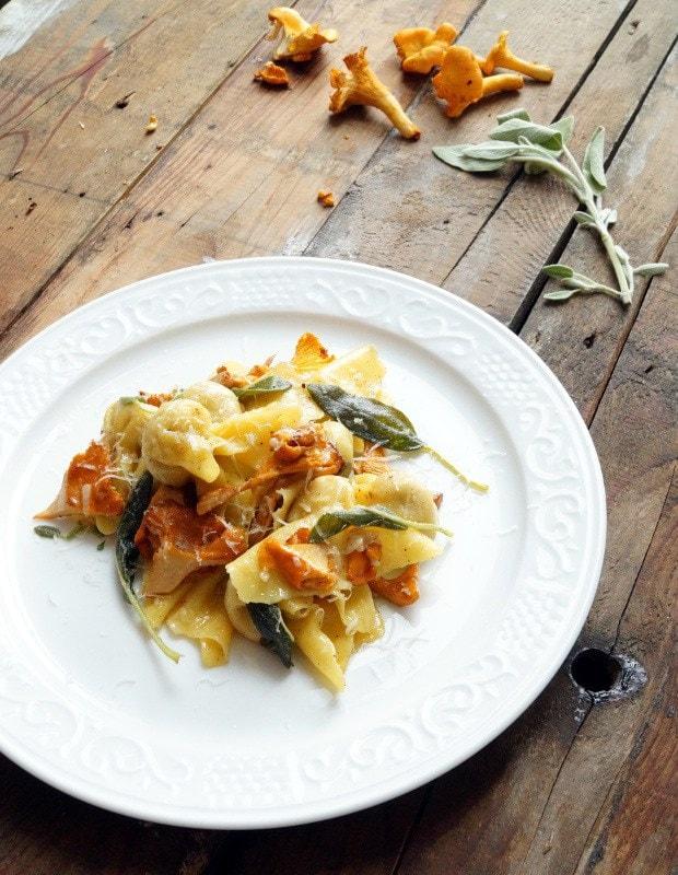 Sacchetti gefüllt mit Feigen und Prosciutto