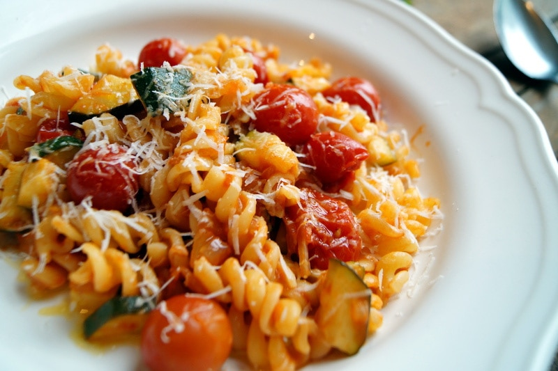 Pecorino e pomodorini