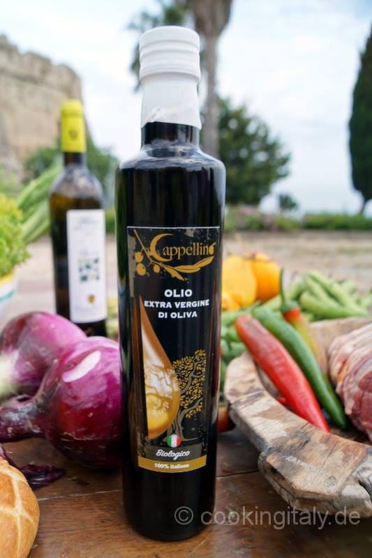 Olio Cappellino aus Belvedere di Spinello