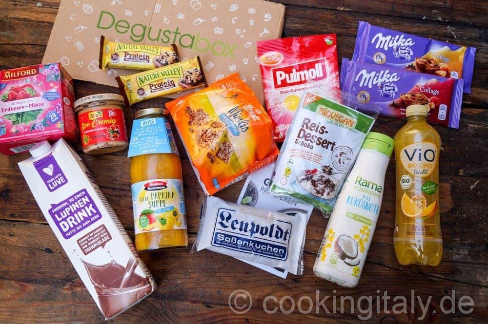 Die Degusta September Box