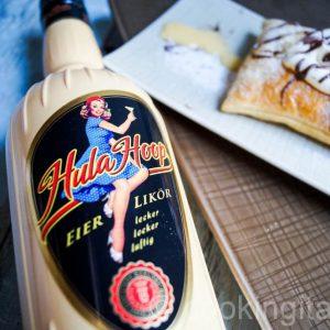 Maritozzi - Süße Brötchen, gefüllt mit Eierlikör-Mascarpone-Creme