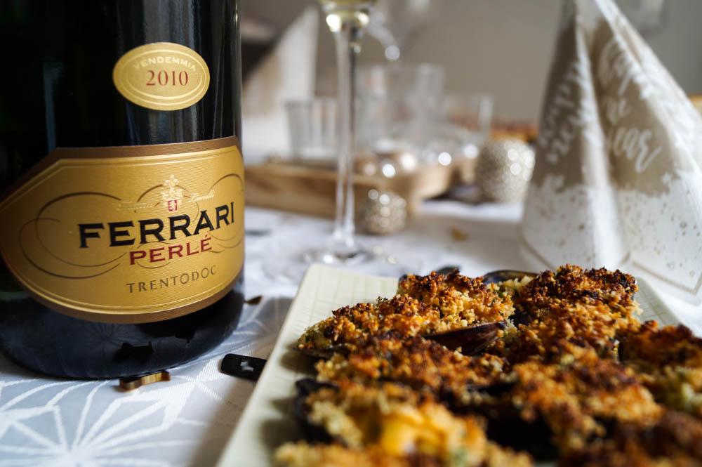 Cozze Gratinate zu Silvester - Gratinierte Muscheln