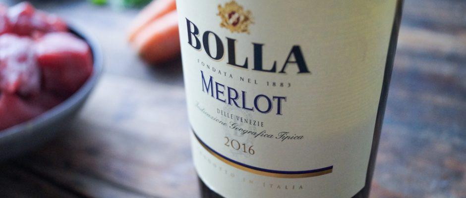 Wein des Monats Januar - BOLLA Merlot