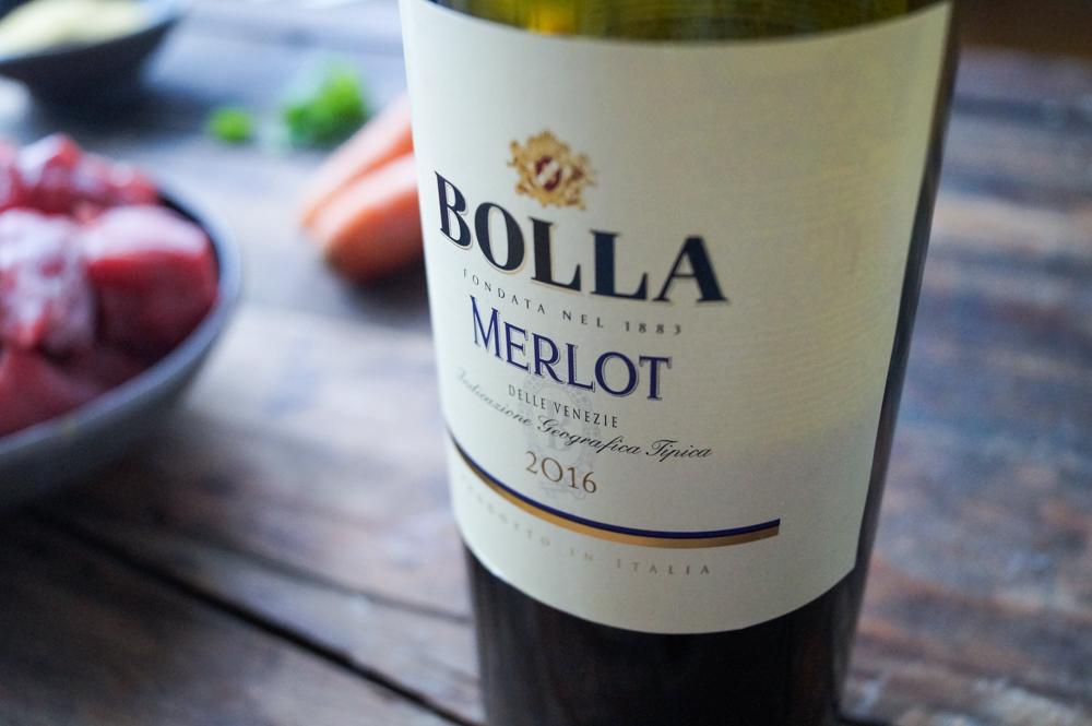 Wein des Monats Januar – BOLLA Merlot