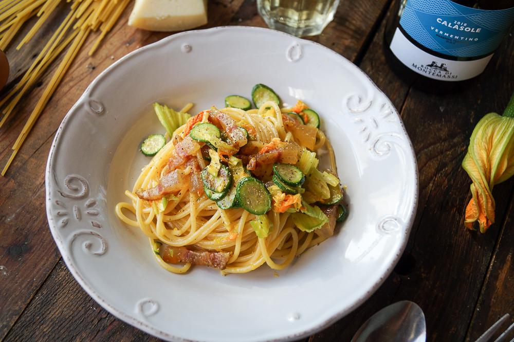 Carbonara di Zucchini