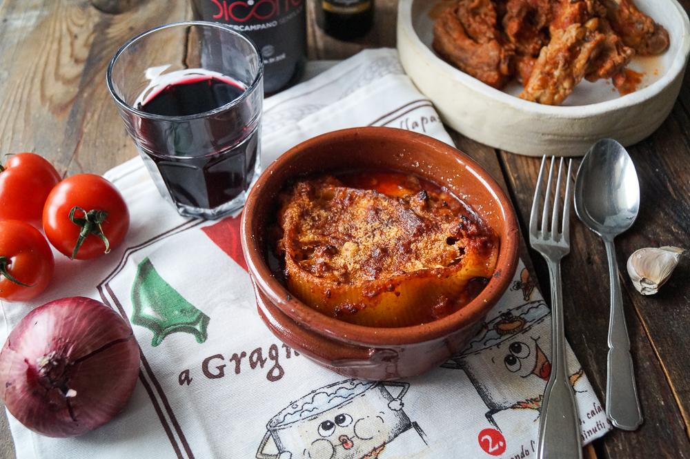 La Caccavella mit Rippchen im Sugo