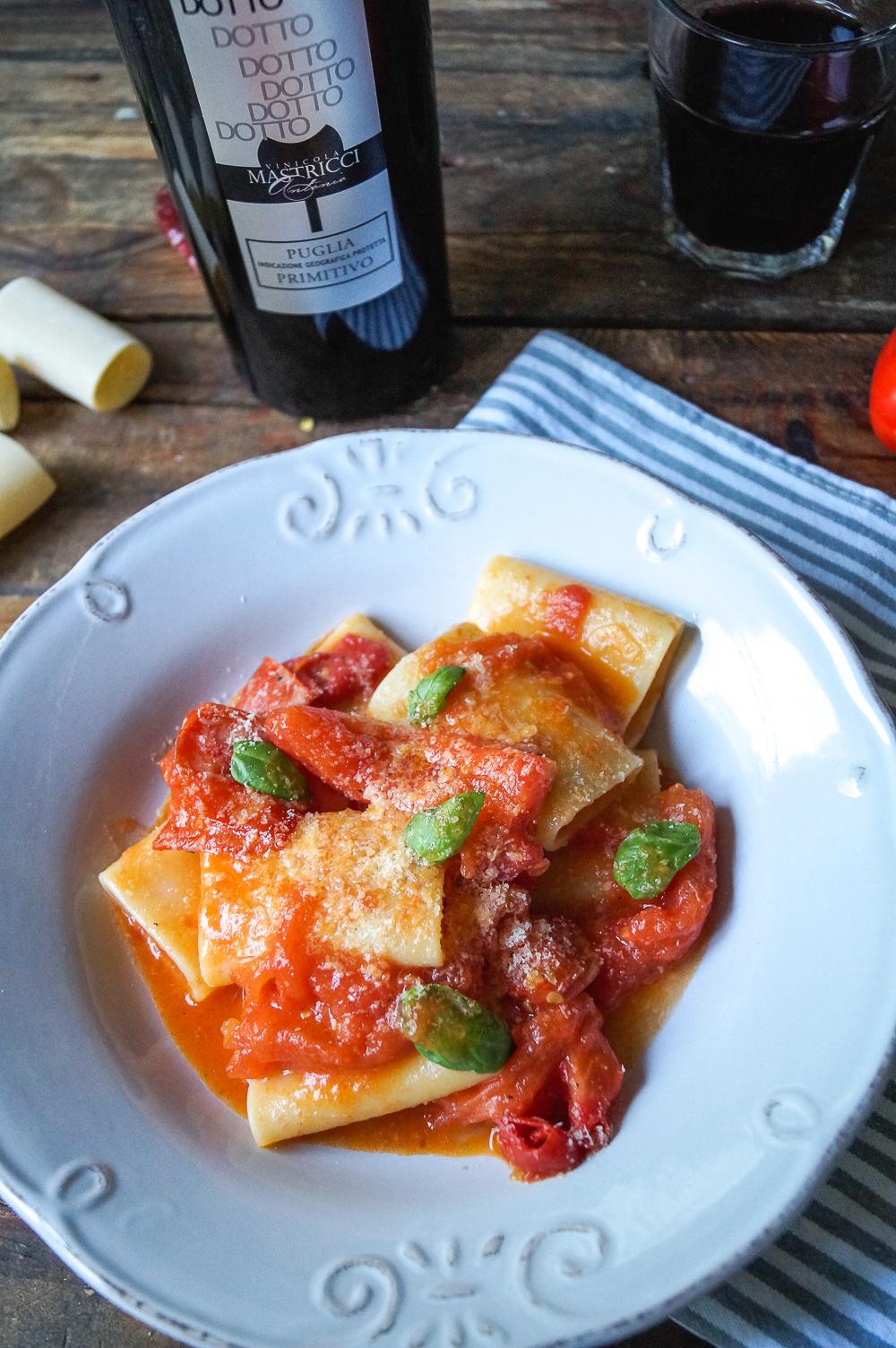 Paccheri alla scarpariello - Cooking Italy