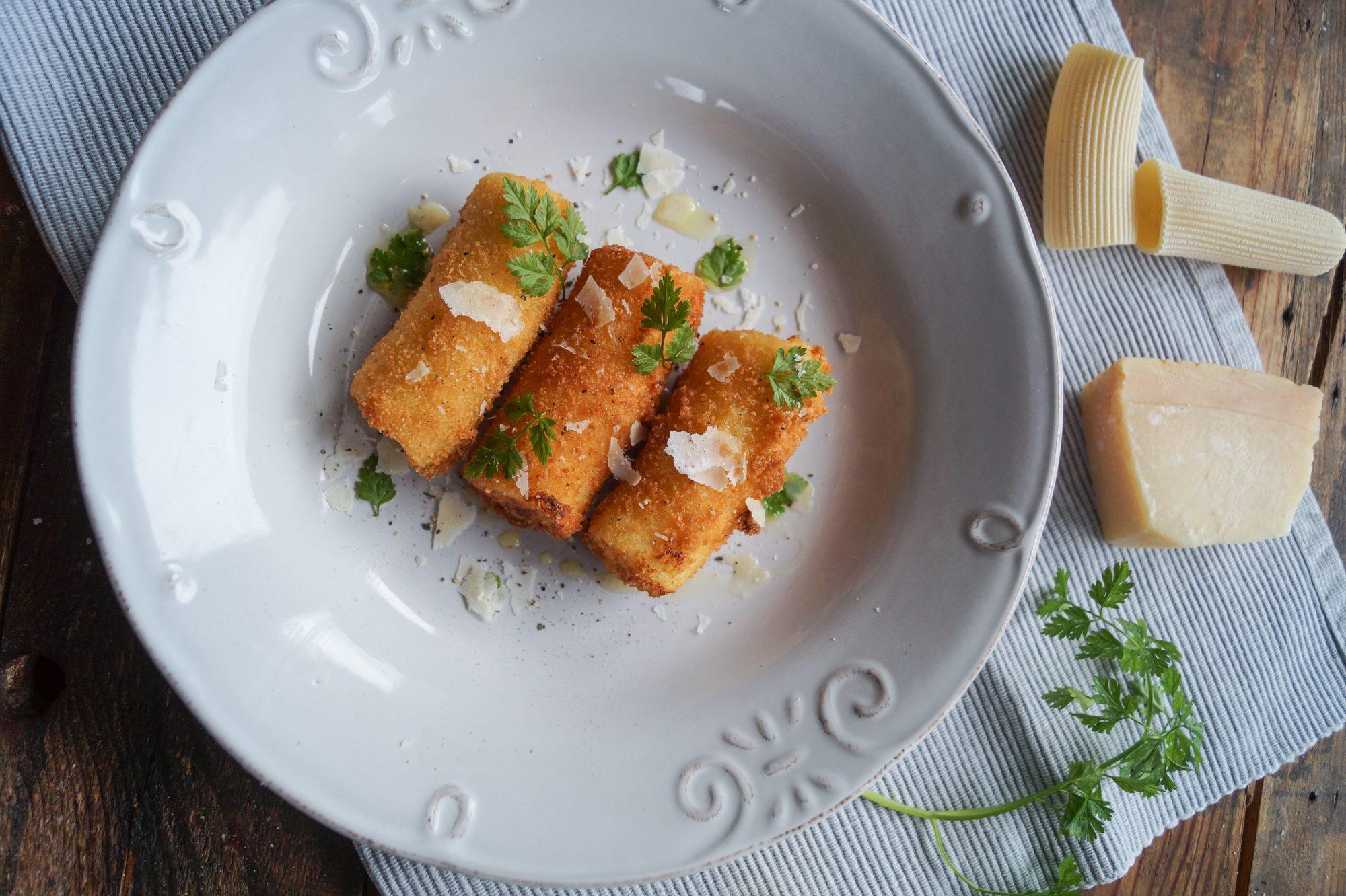 Paccheri fritti - goldenes Pastaglück