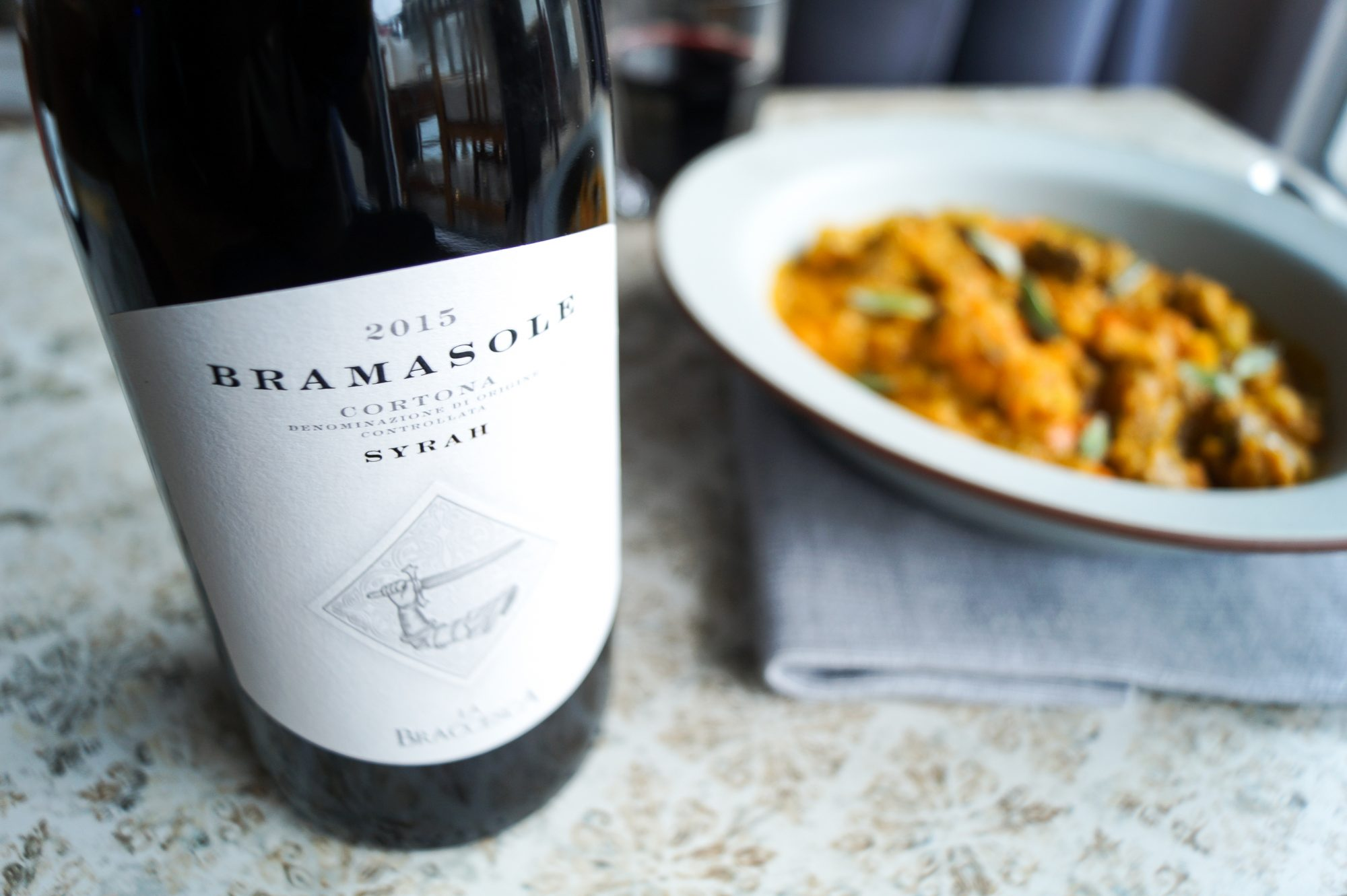 Wein des Monats Dezember Bramasole Cortona DOC Syrah 2011