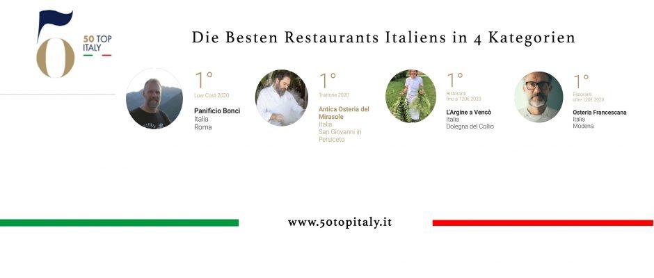 Die 200 besten Restaurants in vier verschiedenen Preisklassen