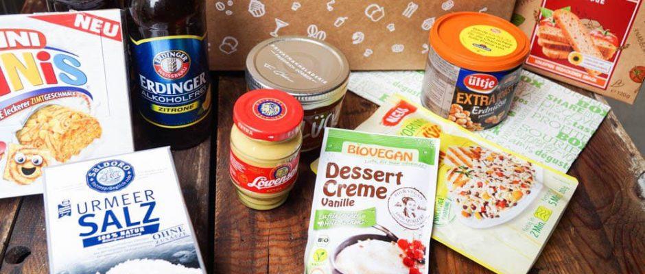 Die Degustabox - jeden Monat eine neue Überraschung