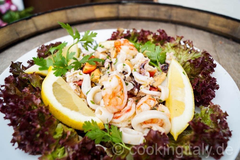 Insalata di Mare - Meeresfrüchte Salat