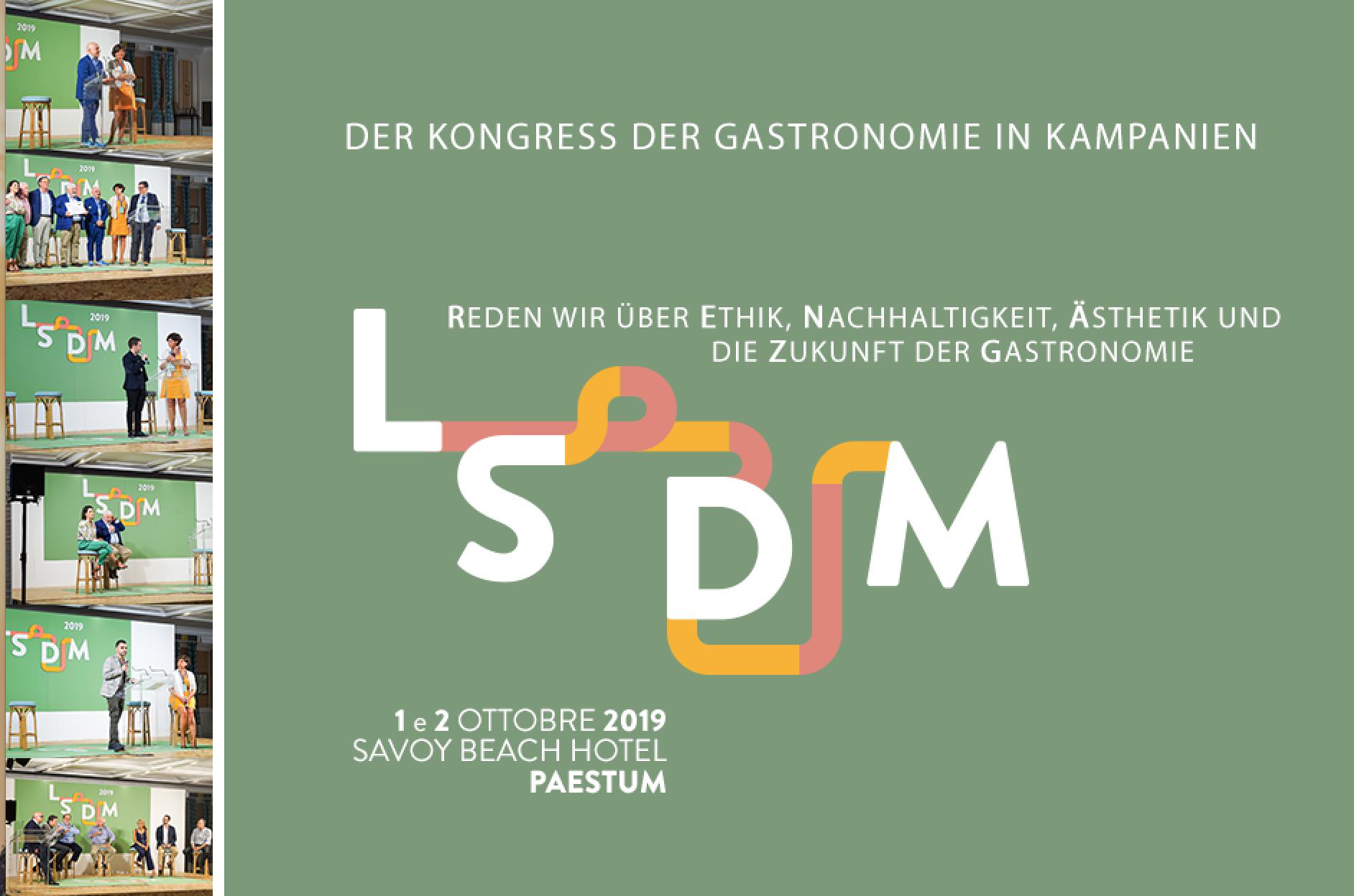 LSDM 2019 – Der Kongress der Gastronomie in PAESTUM, ITALIEN