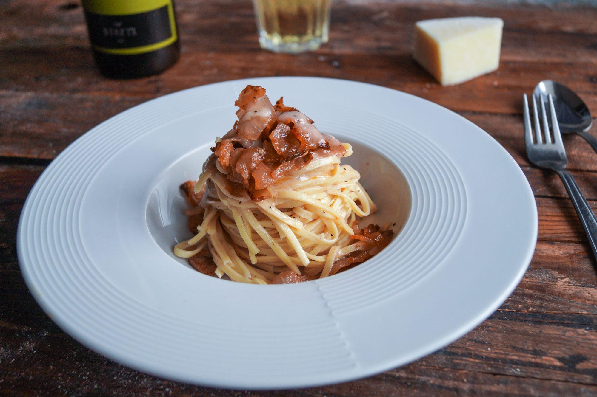 Spaghetti alla Chitarra alla Gricia