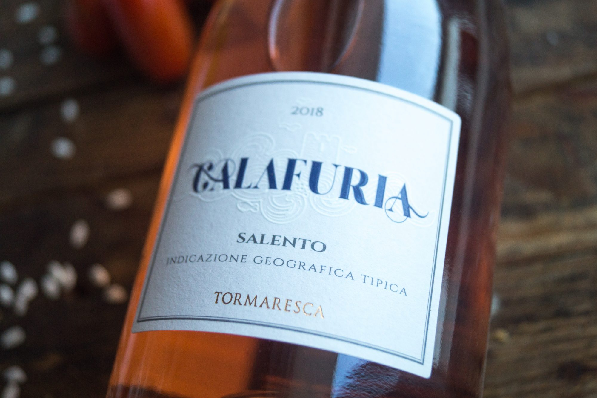 Wein des Monats – Calafuria Rosé Negroamaro Salento