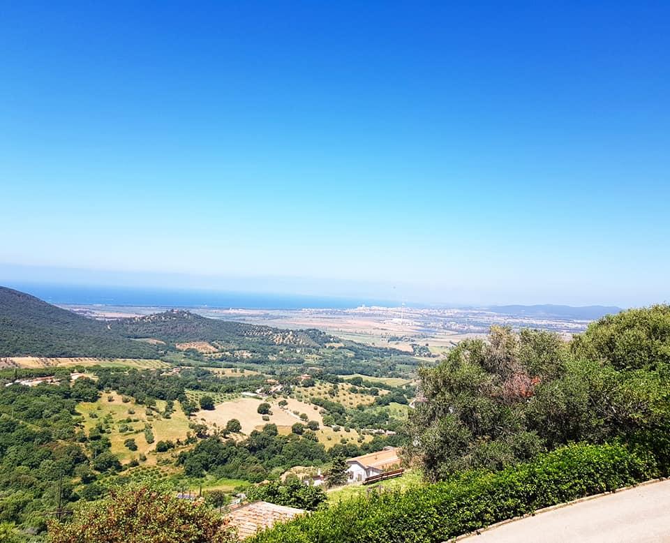 Die Maremma im süden der Toskana