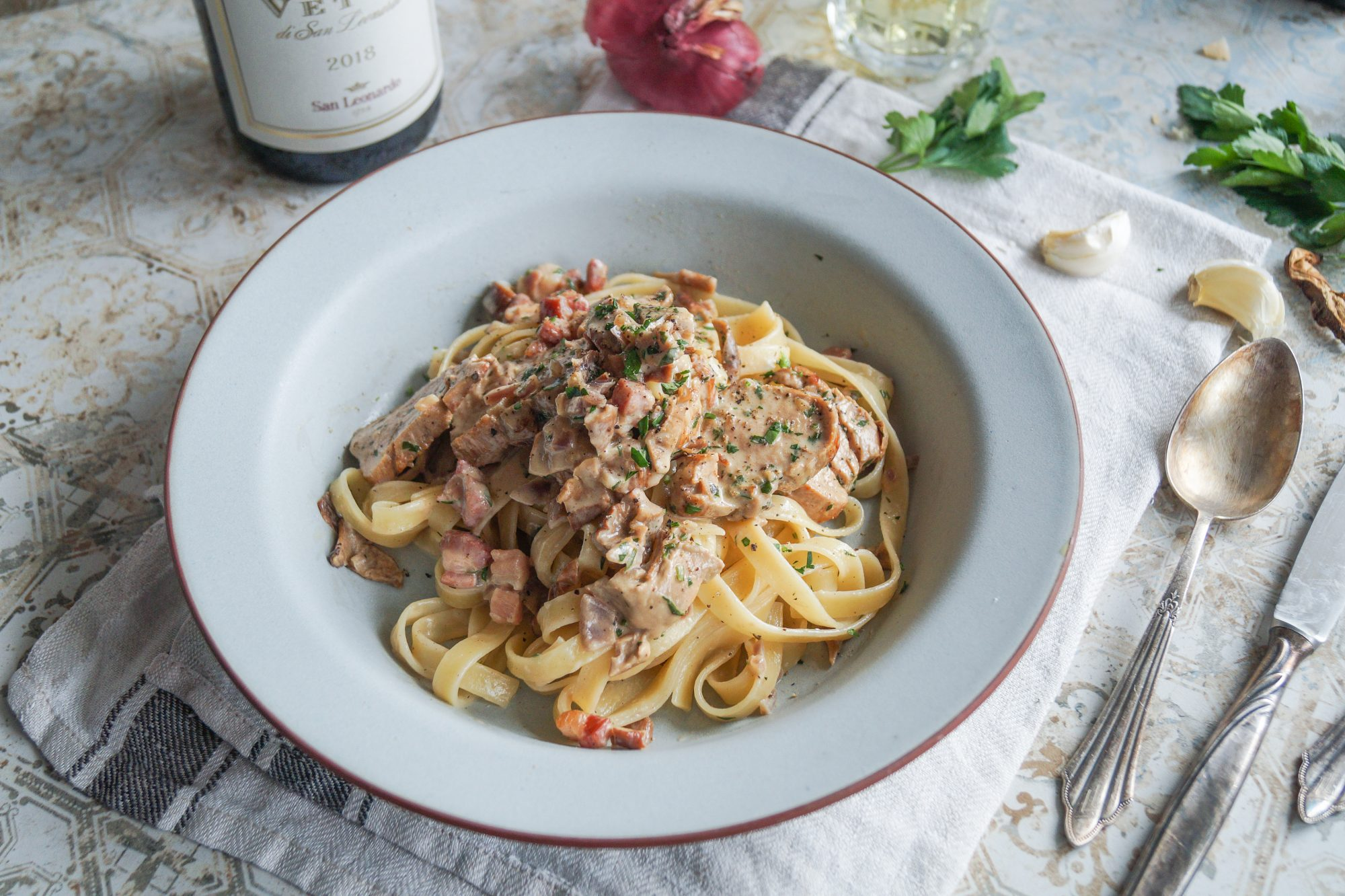 Pasta alla Castellana - Die Küche Südtirols