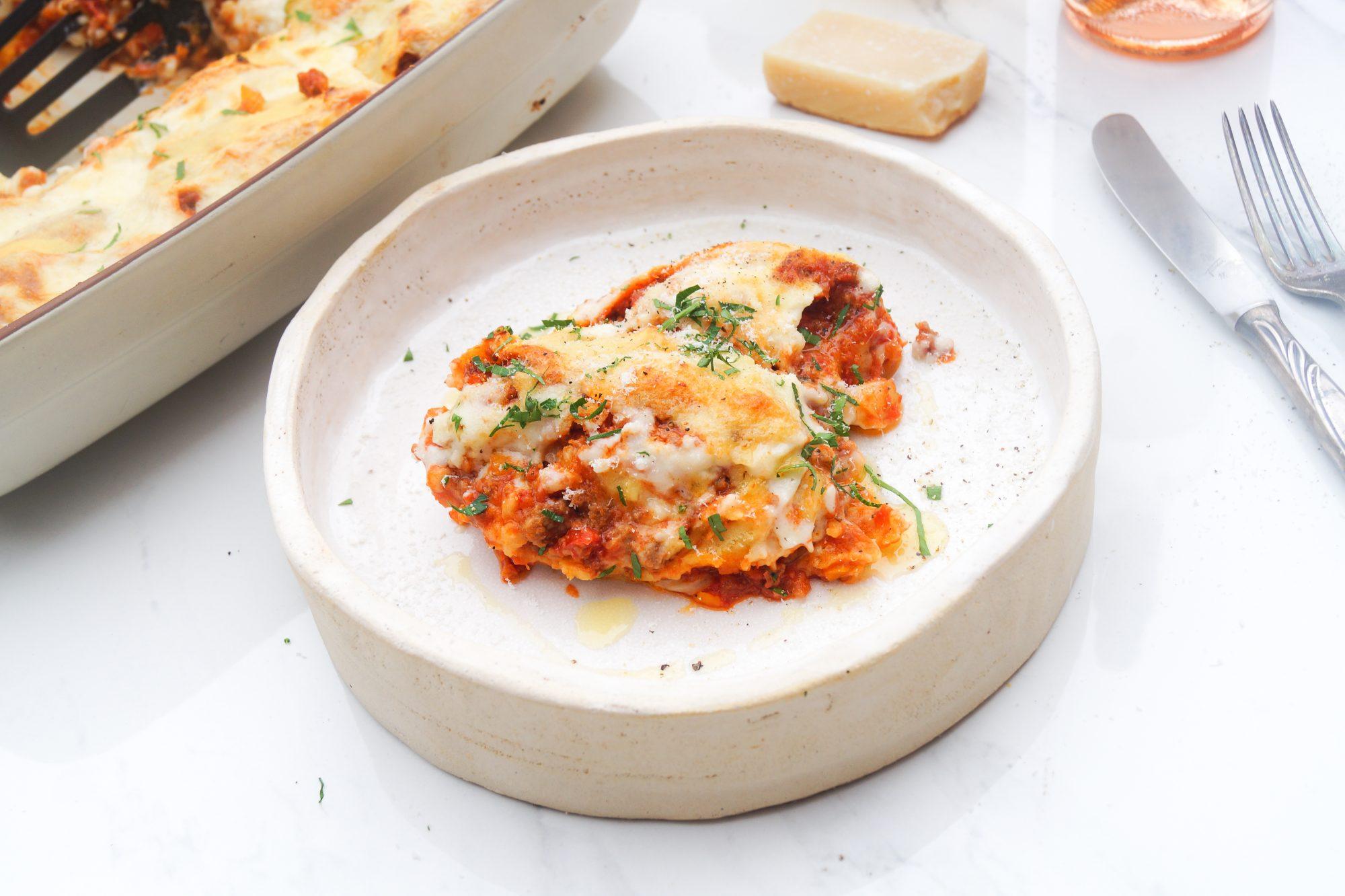Rotolo di Pasta al ragu - Lasagne Strudel