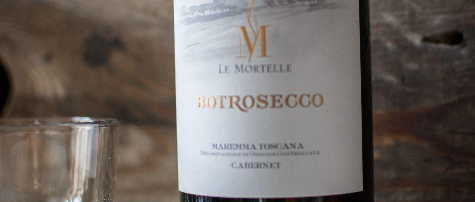 Wein des Monats März - Cabernet - Le Mortelle