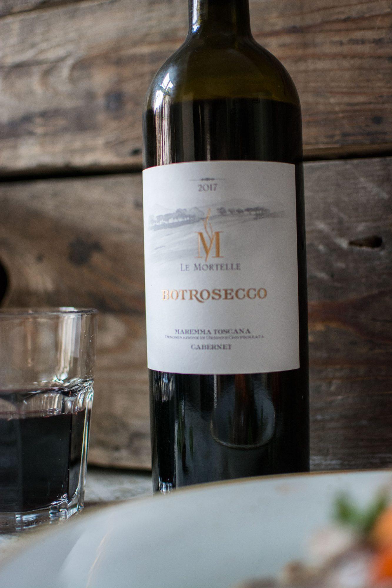Wein des Monats März – Cabernet – Le Mortelle
