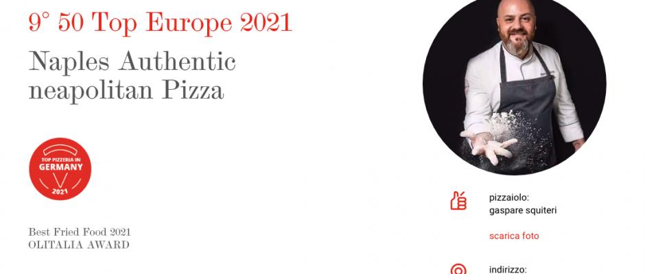 Naples - authentic Neapoletan Pizza wird beste Pizzeria Deutschlands